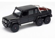 WELLY 1:24 - MERCEDES-BENZ G63 AMG 6X6 2015, BLACK