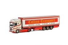 WSI 1:50 - Scania R Highline CR20H curtainside Collins Transport Co Cork