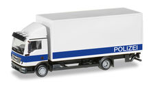 HERPA 1:87 - MAN TGL BOX TRUCK WITH LIFTGATE 'BRANDENBURG POLICE DEPARTMENT / LOGISTIC'