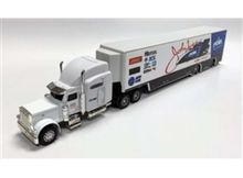 AUTO WORLD 1:64 - JOHN FORCE PEAK TRANSPORTER 2019, WHITE