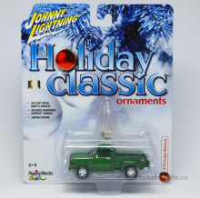 JOHNNY LIGHTNING 1:64 - DODGE WARLOCK 1978 *HOLIDAY CLASSIC ORNAMENTS* CANDY GREEN