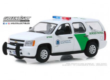 GREENLIGHT 1:43 - CHEVROLET TAHOE 2010 U.S. CUSTOMS AND BORDER PROTECTION BORDER PATROL, WHITE/GREEN
