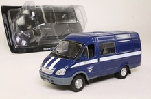MAGAZINE MODELS 1:43 - GAZ 2705 FAPSI GOUVERMENT COMMUNICATION CAR, BLUE