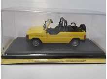 MAGAZINE MODELS 1:43 - ARO 10 SPARTANA *LEGENDARY CARS* YELLOW