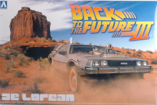"AOSHIMA 1:24 - DE LOREAN ""BACK TO THE FUTURE III"" KIT"