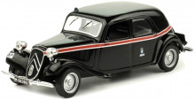 ATLAS 1:43 - CITROEN TRACTION AVANT MADRID TAXI 1955, BLACK