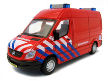 BBURAGO 1:50 - MERCEDES BENZ SPRINTER BRANDWEER NL, RED