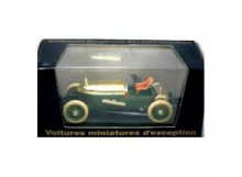 BRUMM 1:43 - NAPIER 6 1905 RECORD VITESSE 168.331KM/H BLACK BOX, GREEN/GOLD