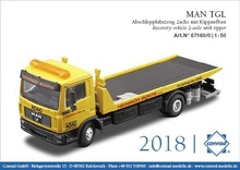 Conrad 1:50 - MAN TG Recovery vehicle 2-axle with tilt and slide recovery body
