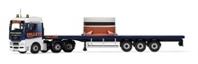 Corgi 1:50 - MAN TGX Flatbed & Load, Colletts