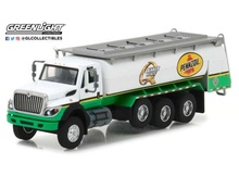 GREENLIGHT 1:64 - INTERNATIONAL WORKSTAR TANKER TRUCK 2017 'PENNZOIL QUAKER STATE', SUPER DUTY TRUCKS SERIES 3