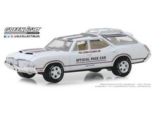 GREENLIGHT 1:64 - OLDSMOBILE VISTA CRUISER 1970, 54TH ANNUAL INDIANAPOLIS 500 MILE RACE OLDSMOBILE OFFICIAL PACE CAR 'HOBBY EXCLUSIVE'
