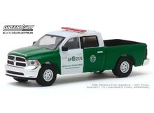 GREENLIGHT 1:64 - RAM 1500 2014 POLICE CARABINEROS DE CHILE *HOBBY EXCLUSIVE*, WHITE/GREEN