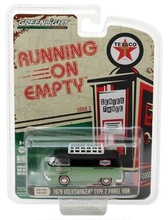 GREENLIGHT 1:64 - VOLKSWAGEN TYPE 2 PANEL VAN, 'TEXACO' 1979, 'RUNNING ON EMPTY SERIES 3', RED/WHITE