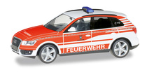 "HERPA 1:87 - Audi Q5 commando vehicle ""fire Department Ransbach-Baumbach"""