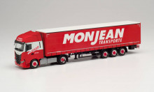 """HERPA 1:87 - Iveco S-Way curtain canvas semitrailer """"Monjean"""""""