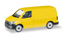 HERPA 1:87 - MiniKit: VOLKSWAGEN T6 box-type, yellow
