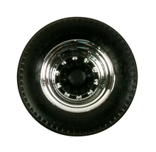 HERPA 1:87 - Tires for trailer (chromium / black, 12 sets)