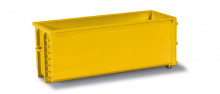HERPA 1:87 - Transport container, 2 pieces, yellow