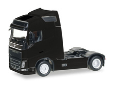 HERPA 1:87 - Volvo FH GL Globetrotter rigid tractor, black