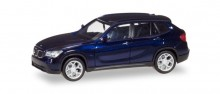 HERPA BMW X1, estoril blue metallic