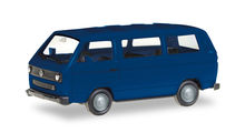 HERPA (MINIKIT) 1:87 - VW T3 BUS, ULTRA MARINE BLUE