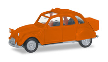 HERPA1:87 - Citroen 2 CV mit Queue, orange