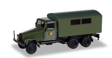 "HERPA1:87 - IFA G5 box trailer ""NVA"""