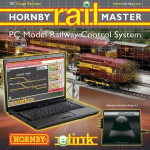 HORNBY  HO / OO (1:87 / 1:76) - e-LINK + Railmaster + 1 amp Transformer