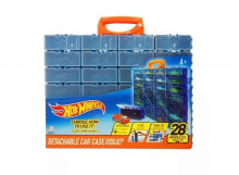 HOTWHEELS 1:64 - HOTWHEELS MULTIBRICK CAR CASE WHICH WILL HOLD 28 CARS