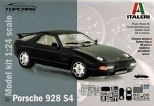 ITALERI 1:24 - 1977 PORSCHE 928 S4 'TOPCARSCOLLECTION'
