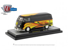 M2 MACHINES 1:24 - VW DELIVERY VAN 1960, BLACK/YELLOW