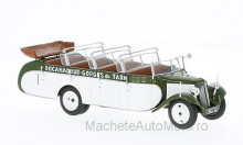 MAGAZINE MODELS 1:43 - CITROEN T23RU CHASSAING, OLIVEE/WHITE WITHOUT SHOWCASE