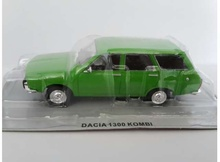MAGAZINE MODELS 1:43 - DACIA 1300 KOMBI *POLISH CARS*, GREEN