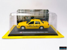 MAGAZINE MODELS 1:43 - FORD CROWN VICTORIA NY 1992 TAXI OF THE WORLD - CENTAURIA