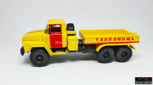 MAGAZINE MODELS 1:43 - KRAZ 260V B.T., YELLOW/RED