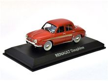 MAGAZINE MODELS 1:43 - RENAULT DAUPHINE - RED