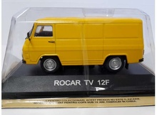 MAGAZINE MODELS 1:43 - ROCAR TV 12F *LEGENDARY CARS* YELLOW