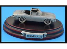 MAGAZINE MODELS 1:43 - TRIUMPH STAG *TIN CLASSIC CAR COLLECTION*, SILVER