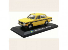 MAGAZINE MODELS 1:43 - VOLVO 144 1970 *STOCKHOLM TAXI*, YELLOW