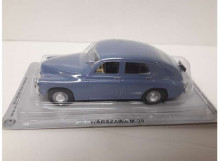 MAGAZINE MODELS 1:43 - WARSZAWA M20 1957 *POLISH CARS* BLUE