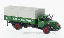 MAGAZINE MODELS 1:72 - MAGIRUS DEUTZ MERCUR, ERNST KELLER TRANSPORT WITHOUT SHOWCASE