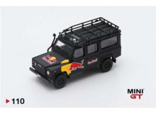 MINI GT 1:64 - LAND ROVER DEFENDER 110 RED BULL LUKA, BLUE/RED/YELLOW
