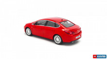 MINICHAMPS 1:43 - OPEL ASTRA 4DR 2012 - RED