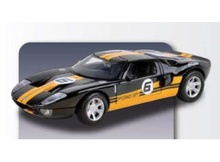 MOTORMAX 1:24 - FORD GT CONCEPT RACING #6 2005, YELLOW/BLACK