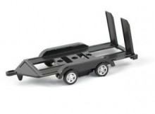 MOTORMAX 1:43 - DIE CAST AUTO TRAILER. GOOD FOR MODELCARS.