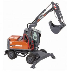 NZG 1:50 - Atlas 140W Mobile Excavator (WSL)