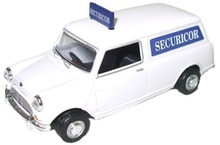 OXFORD 1:43 - MINI VAN SECURICOR