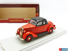 REXTOYS 1:43 - FORD 1935 COUPE 2 PORTES POMPIERS 54, RED