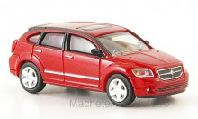 RICKO 1:87 - DODGE CALIBER, METALLIC-RED